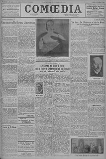 Comoedia 1927