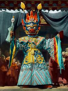 Danse rituelle Tsam