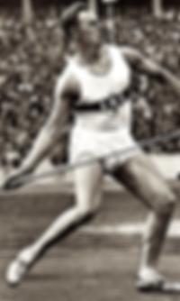 Jeux olympiques à Berlin en 1936