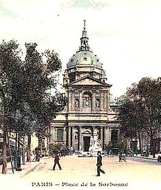 paris place de la Sorbonne