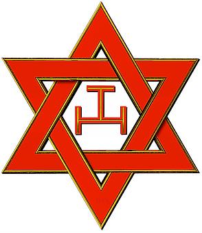 étoile 6 branches maçonnique