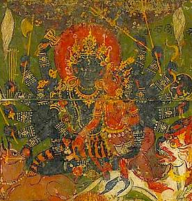 Shrî Kubjikâ (Navâtmabhairava)