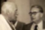 C. G. Jung et Henry Corbin en 1950 au Cercle d'Eranos