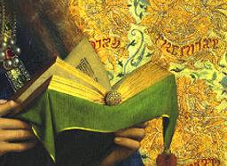 L'adoraton de l'agneau mystique Van Eyck