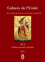 René Guénon - Cahiers de l'Unité N° 4