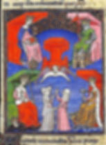 «Les quatre roynes qui gouvernent le monde»  Christine de Pizan