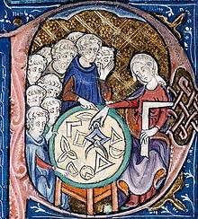 Contrepoinçon XIVe s. Géométrie