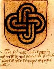 Noeud de Salomon, armorial universel, 1558