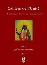 René Guénon - Cahiers de l'Unité N° 7