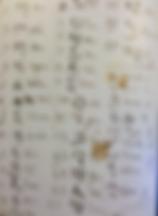 Pagedu carnet de notes d'Aguéli