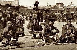 Nobles mongol à Urga