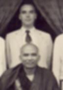 John Blofeld et le maître du temple de Wat Pho Yen