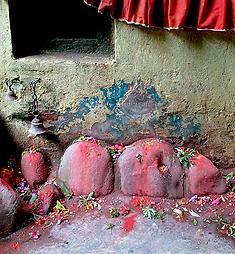 Pierres sacrées Népal