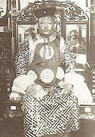 Bogdo Khan Mongolie