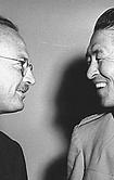 Owen Lattimore et le général Ping Hung Whang