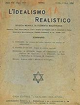 L'Idealism Realistico