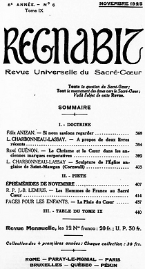 Regnabit - René Guénon