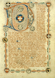 Grand Mémorial allemand (manuscrit)