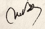 Signature Michel Vâlsan