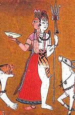 Shâkta Ardhanârîshvara