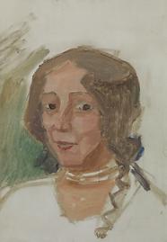 Portrait de Marie Huot par Agueli