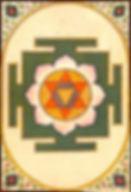 Yantra de la déesse Bagalamukhi