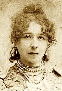 Marie Huot en 1889