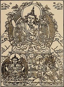 Mañjushrî, Avalokiteshvara, Vajrapânidhichitta