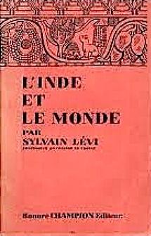 l'inde et le monde. sylvain Lévi