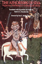 Les Aphorismes de Shiva (Śiva Sûtra)