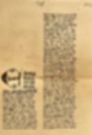 Texte autographe d'Elizabeth Stagel