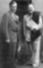 Henry Wallace, vice-président des États-Unis, et Owen Lattimore en Chine
