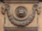 René Guénon. Motifs de la porte d'entrée de l'hôtel de Chenizot
