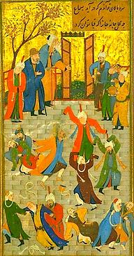 Rite initiatique soufi samâ
