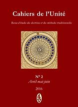 René Guénon - Cahiers de l'Unité N° 2