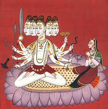Shiva aux cinq faces