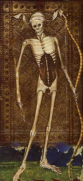 La mort peinture médiévale
