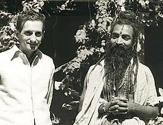 Alain Daniélou et Shrî Dattatreya Rama Rao Parvatikar