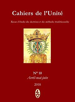 Cahiers de l'Unité n° 10 René Guénon