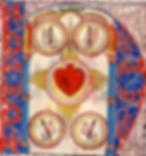 Cinq Plaies du ChristCologne, XVe siècle.
