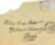 Lettre d'Aguéli à Marie Huot
