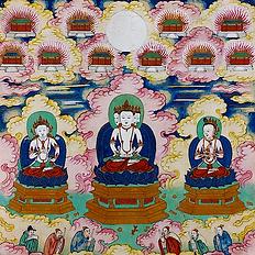 Bouddha omniscient (Bouddha Sarvavid Vairocana)