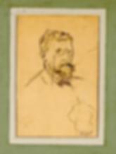 Portrait d'Ivan Aguéli par Ragnar Alyre