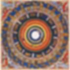Carte céleste des signes du Zodiaque et des Mansions lunaires dans le Zubdat al-Tawarikh