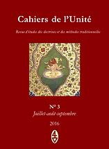 René Guénon - Cahiers de l'Unité N° 3