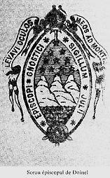 Sceau épiscopal de Jules Doinel