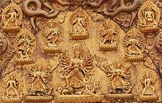 Torana, temple Taleju, Patan