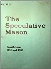 Couverture The Speculative Mason