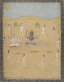 Kâlî, Shiva, Yoginîs