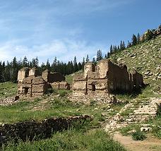Les ruines de Manchir Chiid